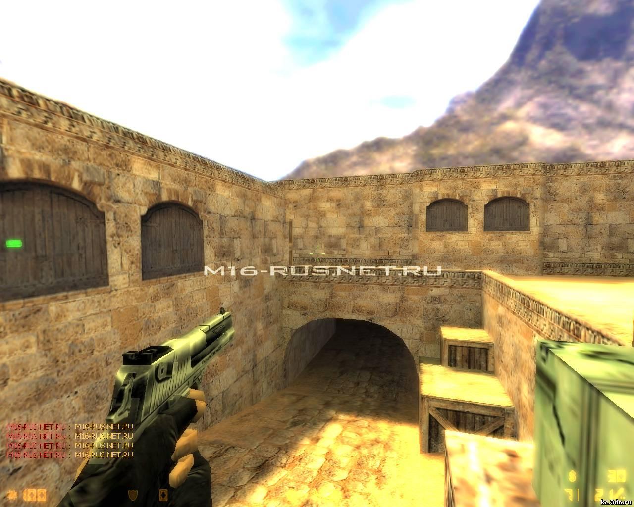 Counter Strike 1.6 Shader патч (улучшает качество картинки) .