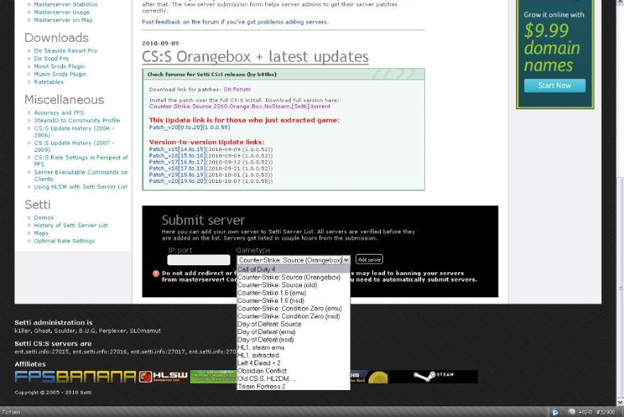 Как сделать так чтобы сервер cs был виден в интернете